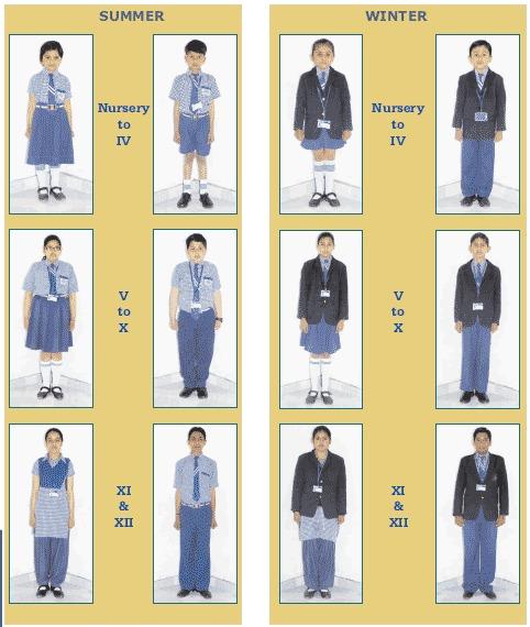 Class Wise Dresscode