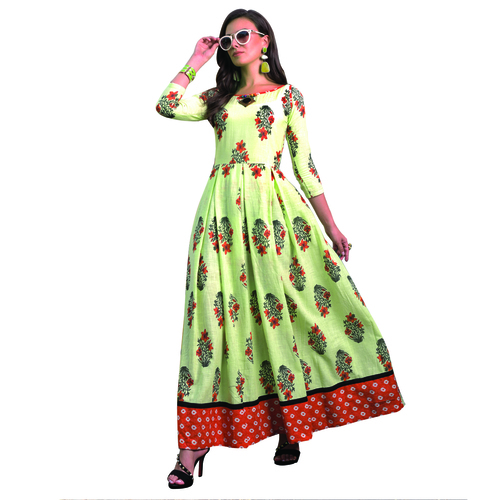 Latest Trendy Cotton Printed Kurti