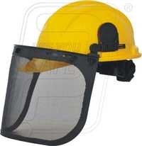 Safety Shield With Helmet