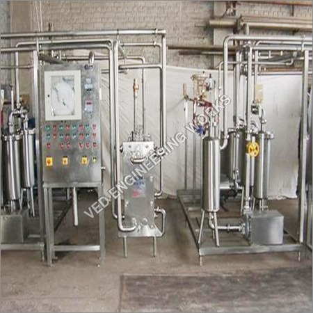 MILK PASTEURISER FOR MINI DAIRY PLANT