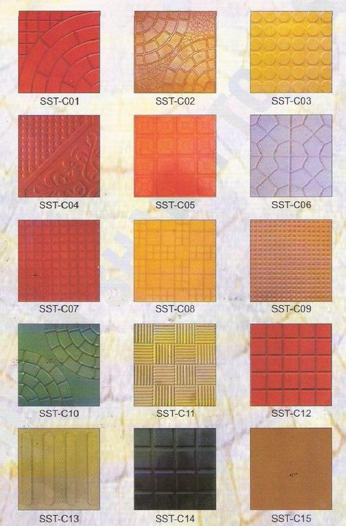 Chequered Tiles ( Moulds )