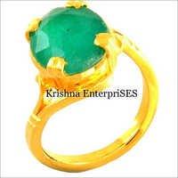 Green Stone Power Full Ring