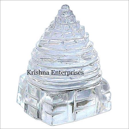 Sphatik Crystal Shri Yantra
