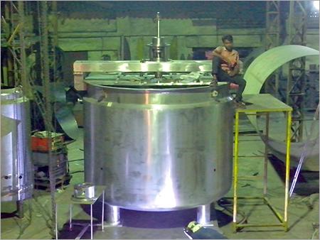 Stainless Steel Agitator Tank