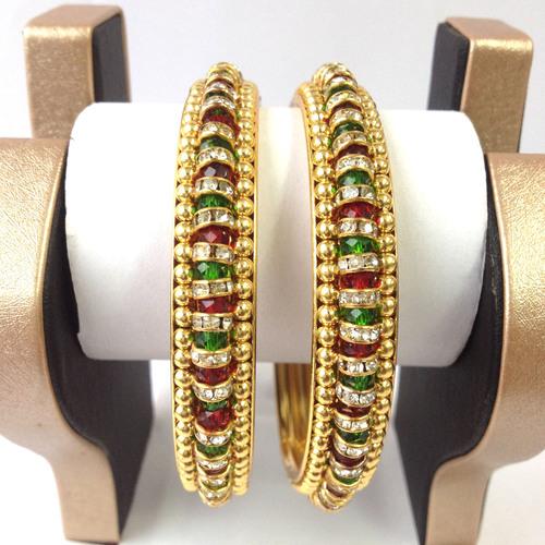 Designer Gold Plated Bangles