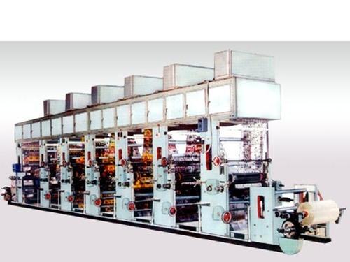 Multicolour Rotogravure Printing Machine