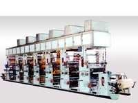 Multicolour Rotogravure Printing Machine