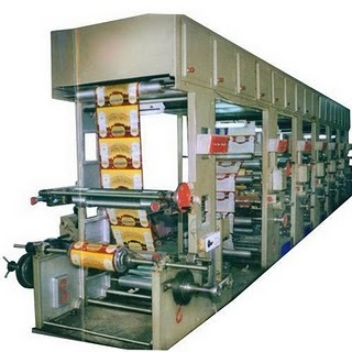 Rotogravure Printing Press Machine