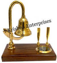 Brass Bell Pen Holder