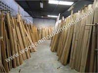 Godown of wooden moulding