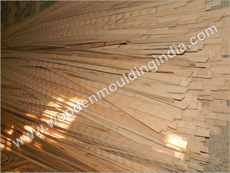 Stock of wooden moulding