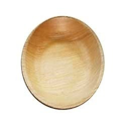 Round Areca leaf plate