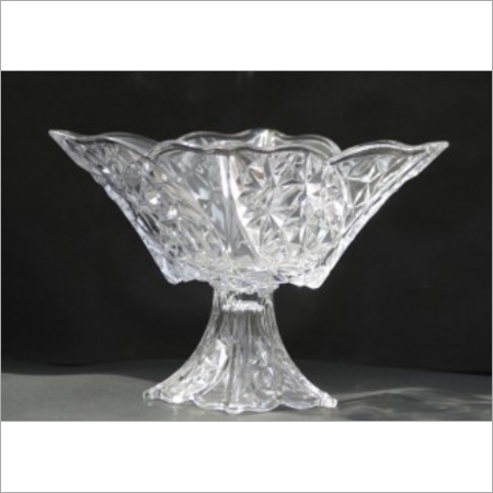 Crystal Footed Bowl