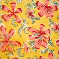 Cotton fabric print