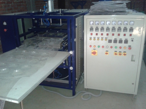 THERMOFARMING TYPE PAPER CUP,GLASS MACHINE URGENT SALE