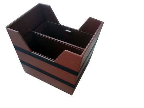Leather & Leatherette Waste Bin