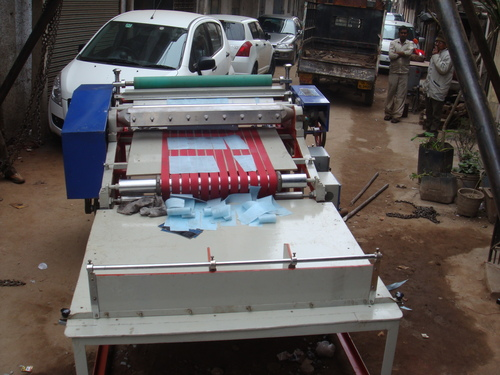 Duplex Paper Roll to Sheet Cutting Machine