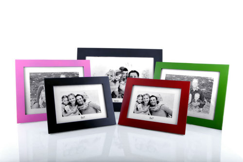 New Coloured photo frames