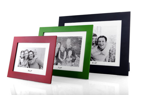 Slim photo frames