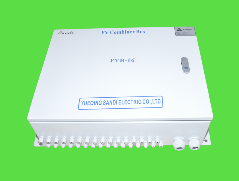 IP65 16 Strings Input PV Combiner Box with SPD