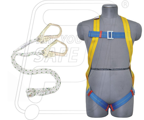 Safety Belt Full Body Double Rope
