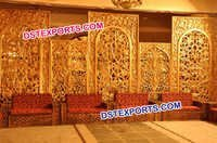 Wedding Rajasthan Art Backdrop Panel