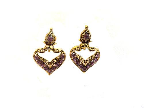 Oxodised Earrings