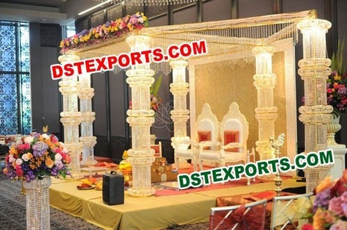 New Wedding Six Pillar Mandap Set