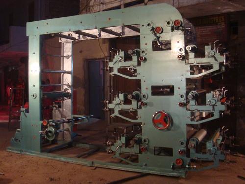 Woven Sacks Flexographic Printing Machine