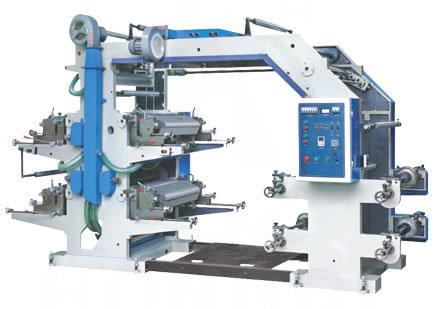Six Colour Flexo Printing Machine