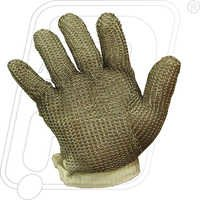 Chain Mesh Hand Gloves