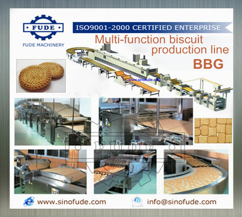 Automatic Mufti-function Biscuit Production Line