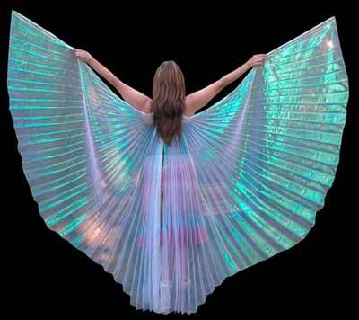 Gold Belly Dance ISIS Wing