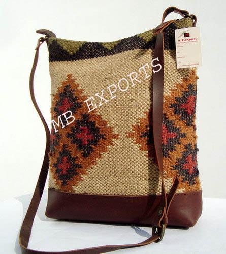 Wool Jute Rug Bags