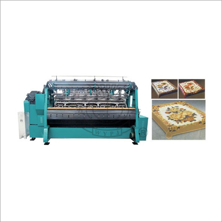 Plush Double Needle Bar Raschel Machine