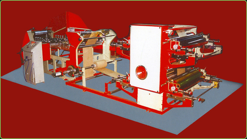 Paper Grocery Bag Making Machine