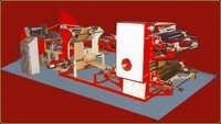 Paper Grocery Bag Making Machine