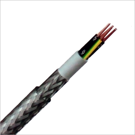 PVC Bedded Shielded Multicore Cables