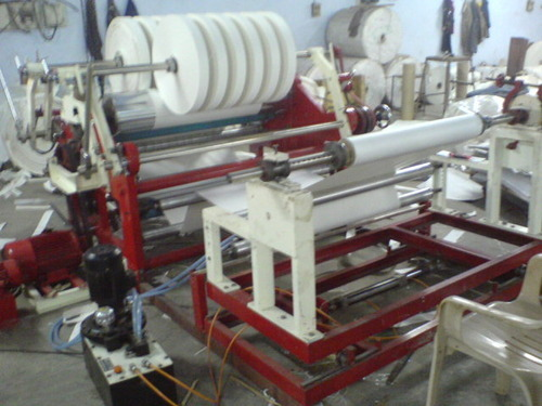 Kitchen Foil Rewinding Machine