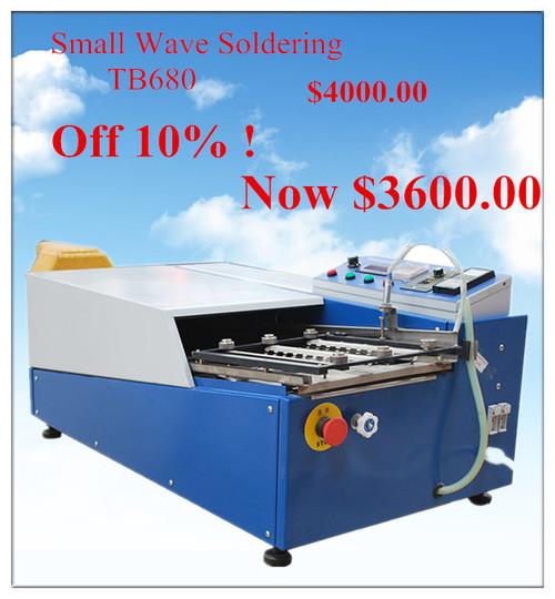 Desktop mini high precision wave soldering machine TB680