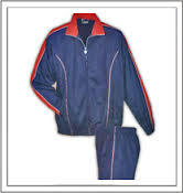 Superpoly track suit