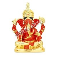 Gold Plated Siddhivinayak Idol