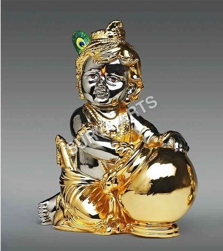 Gold Plated Makhan Chor