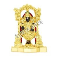 Lord Balaji Gold Plated Idol