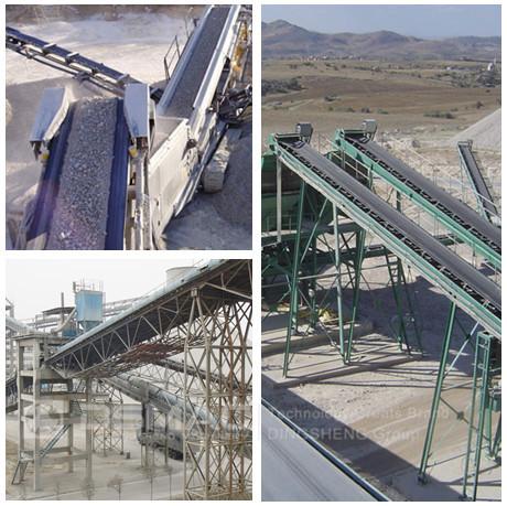 Limestone Belt Conveyor