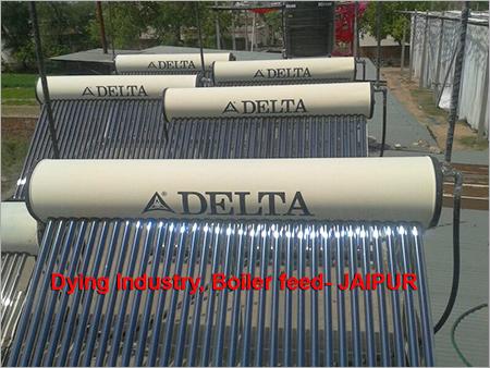 Solar Water Heater Boiler Feed