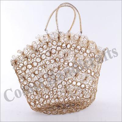 Decorative Metal Handbag