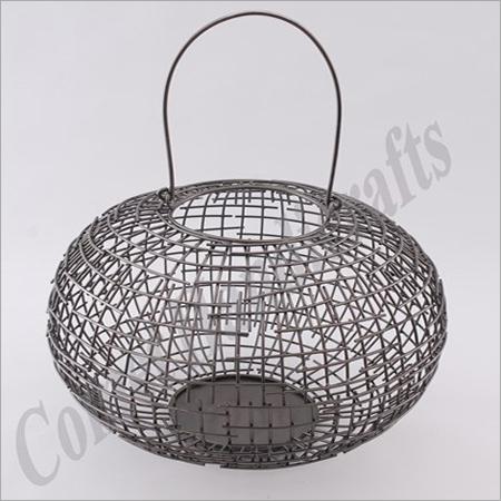 Metal Basket Lantern