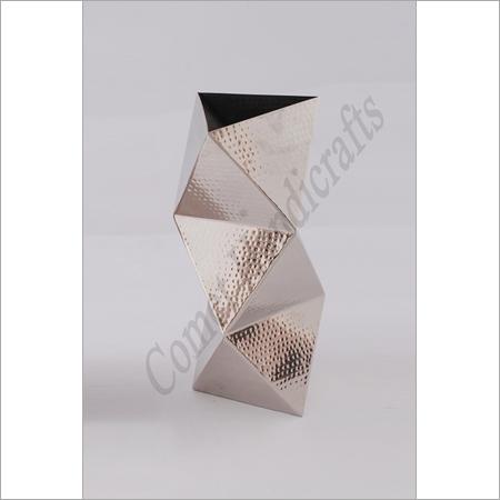Decorative Metal Flower Vases