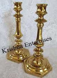 Brass Candle Nautical Stand